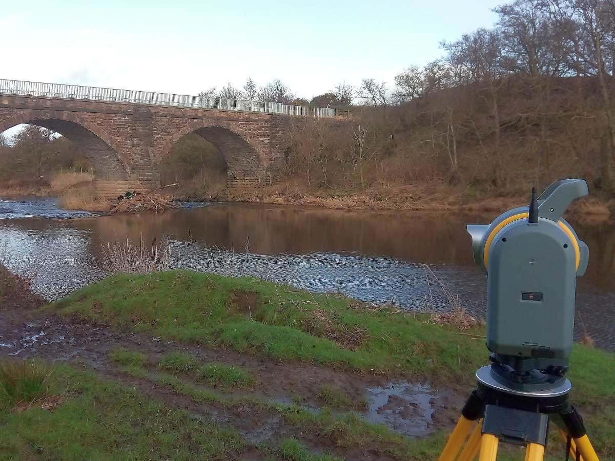 Aspect first in scotland with Trimble SX10