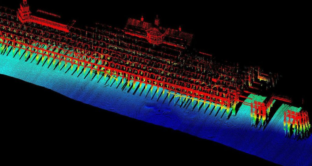Combined LiDAR & Multibeam bathymetric survey