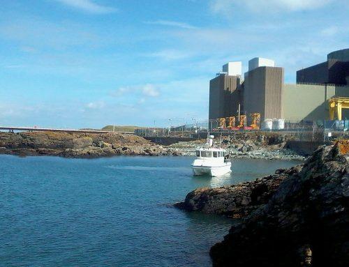 UXO Works at Wylfa Power Station