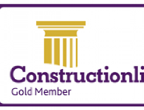 Constructionline Gold & Acclaim Accreditation